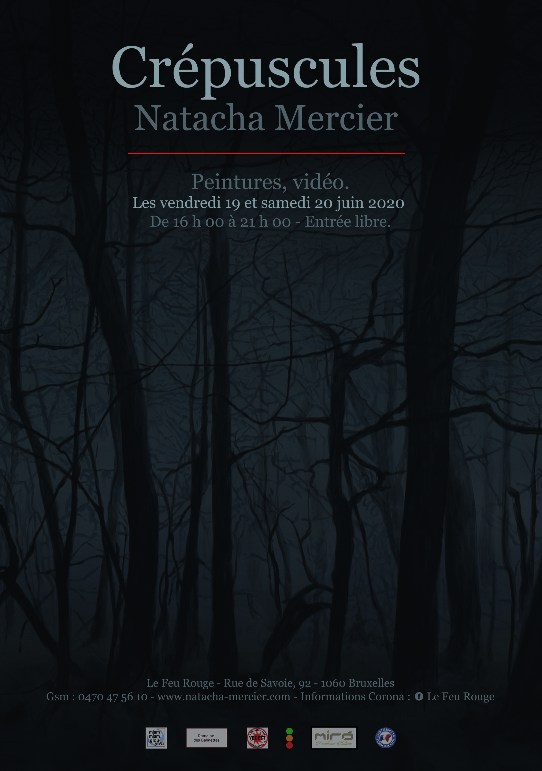 affiche exposition natacha mercier