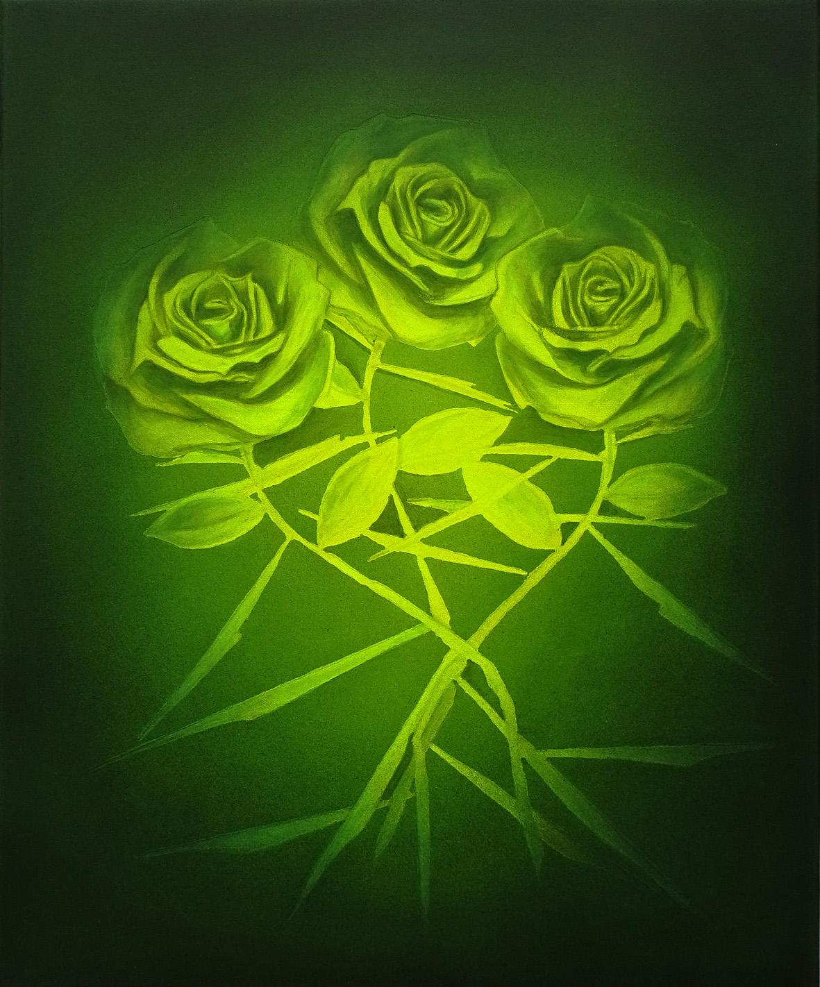 roses vertes